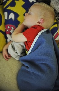 Lorcan asleep resized